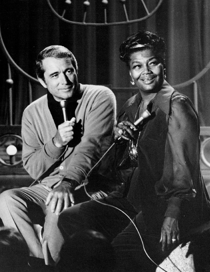 Pearl Bailey and Perry Como in The Perry Como Show (1948)