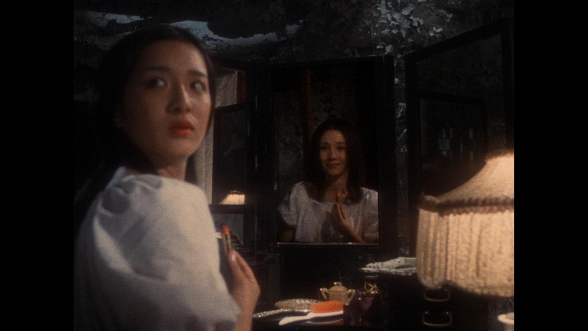 Kimiko Ikegami and Yôko Minamida in Hausu (1977)