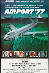Olivia de Havilland, James Stewart, Jack Lemmon, Joseph Cotten, George Kennedy, Lee Grant, Darren McGavin, and Brenda Vaccaro in Airport '77 (1977)