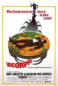 Scorpio (1973) Poster - Movie Forum, Cast, Reviews