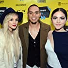 Ashlee Simpson, Evan Ross, and Isabelle Fuhrman at an event for All the Wilderness (2014)