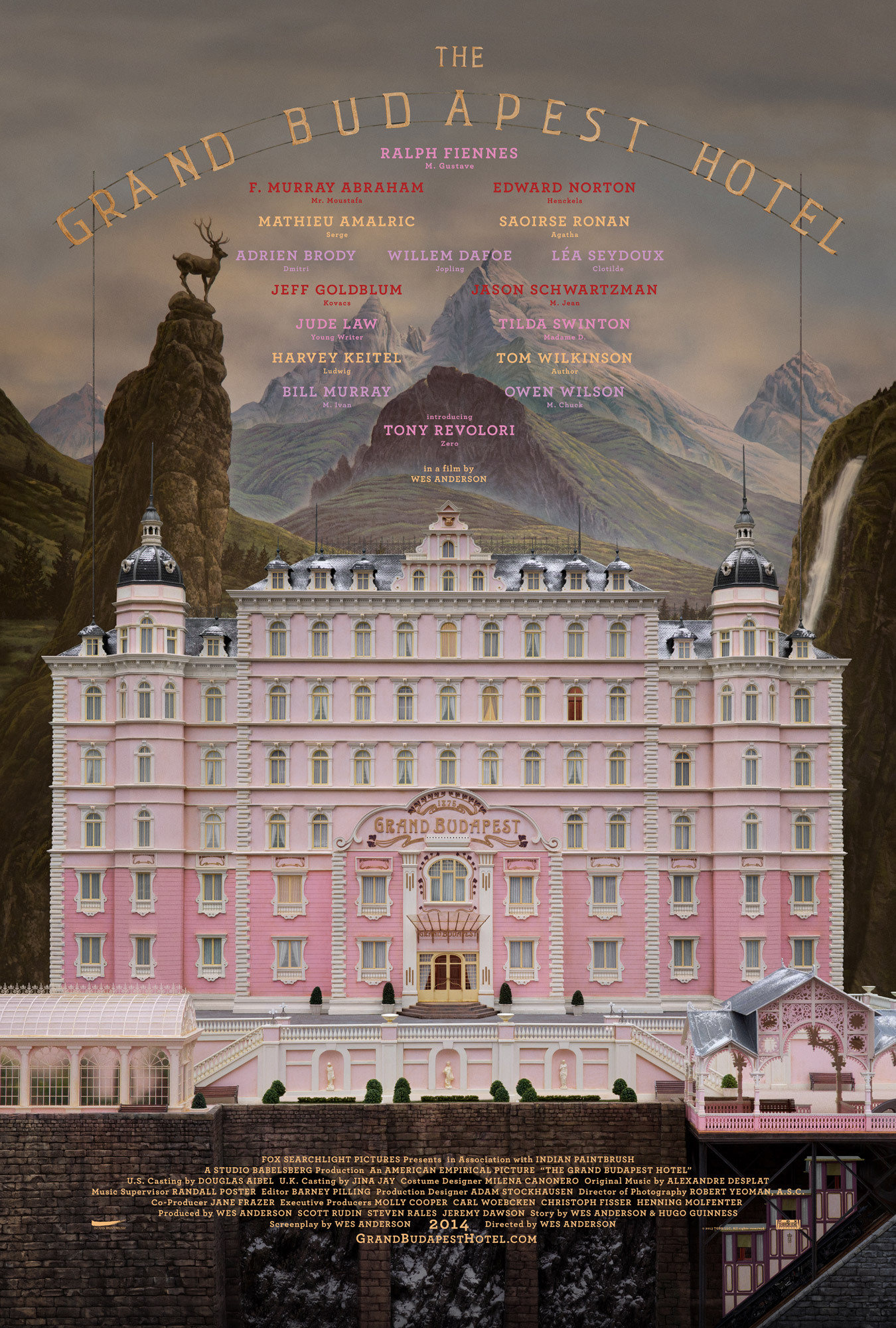 The Grand Budapest Hotel (2014) - IMDb