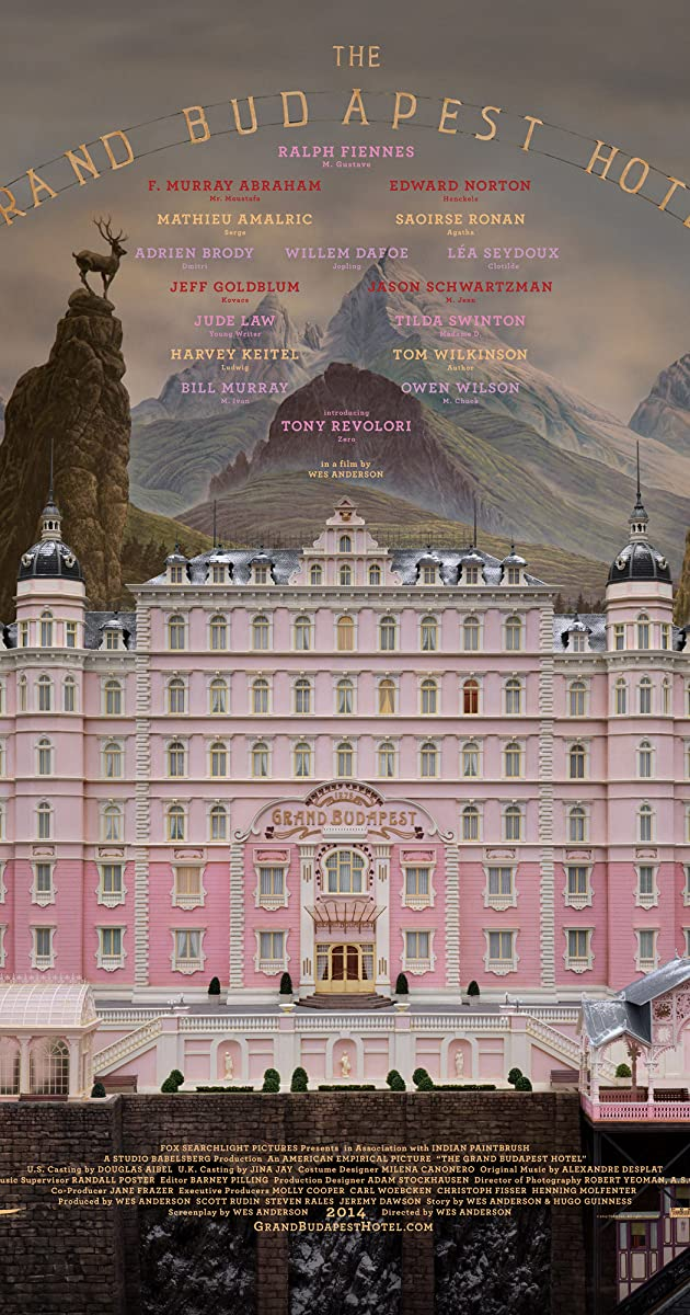 Watch Full HD Movie The Grand Budapest Hotel (2014)