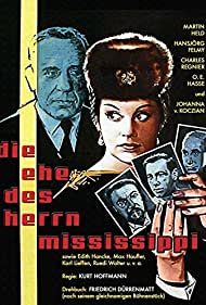 O.E. Hasse and Johanna von Koczian in Die Ehe des Herrn Mississippi (1961)