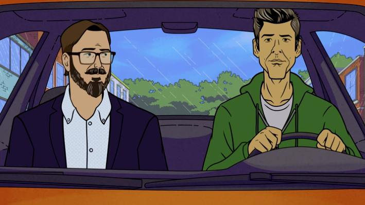 John Hodgman and David Rees in Dicktown (2020)