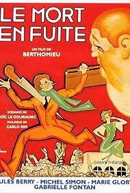 Jules Berry and Michel Simon in Le mort en fuite (1936)