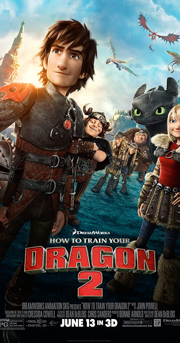 How to Train Your Dragon 2 (2014) [1080p]