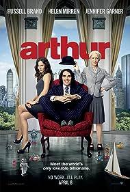 Helen Mirren, Jennifer Garner, and Russell Brand in Arthur (2011)