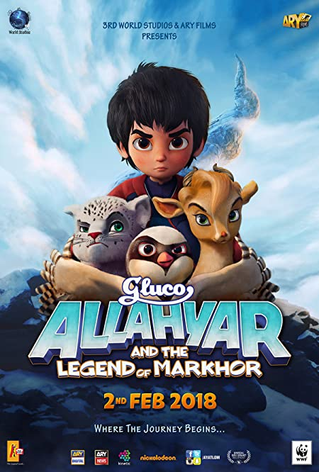 Allahyar and the Legend of Markhor (2018) Urdu Netflix WEB-DL - 480P | 720P - x264 - 250MB | 650MB - Download & Watch Online  Movie Poster - mlsbd
