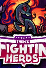 Them's Fightin' Herds Poster