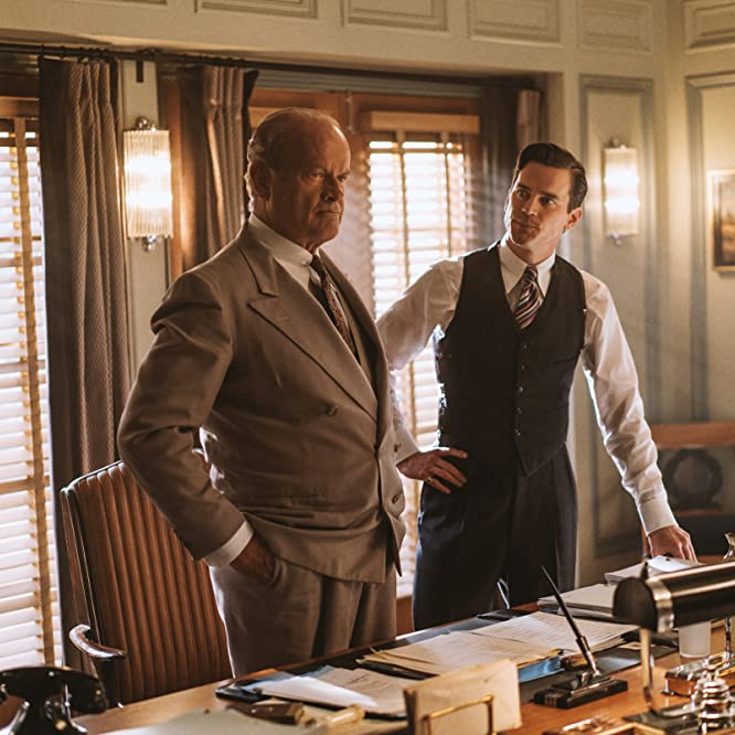 Kelsey Grammer and Matt Bomer in The Last Tycoon (2016)