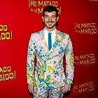 Francisco Lupini in the red carpet of the premiere of ¡He matado a mi marido!