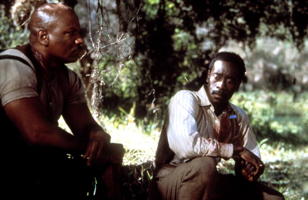 Don Cheadle and Ving Rhames in Rosewood (1997)