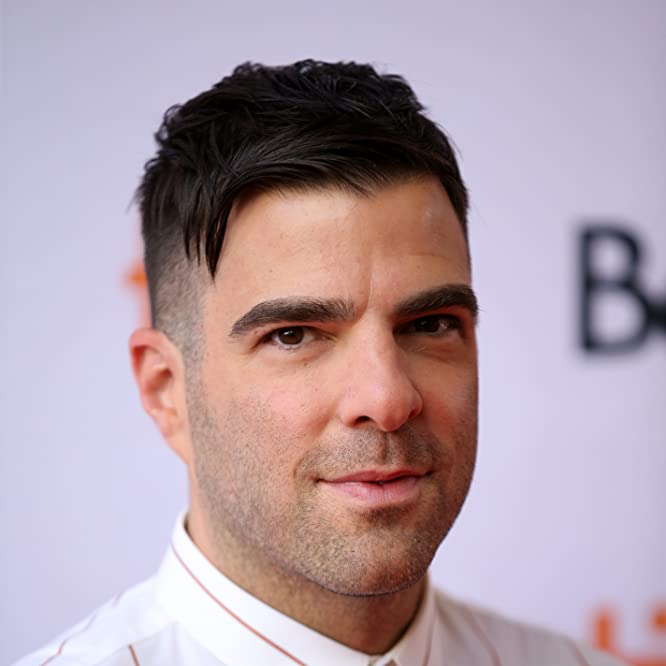 Zachary Quinto at an event for Who We Are Now (2017)