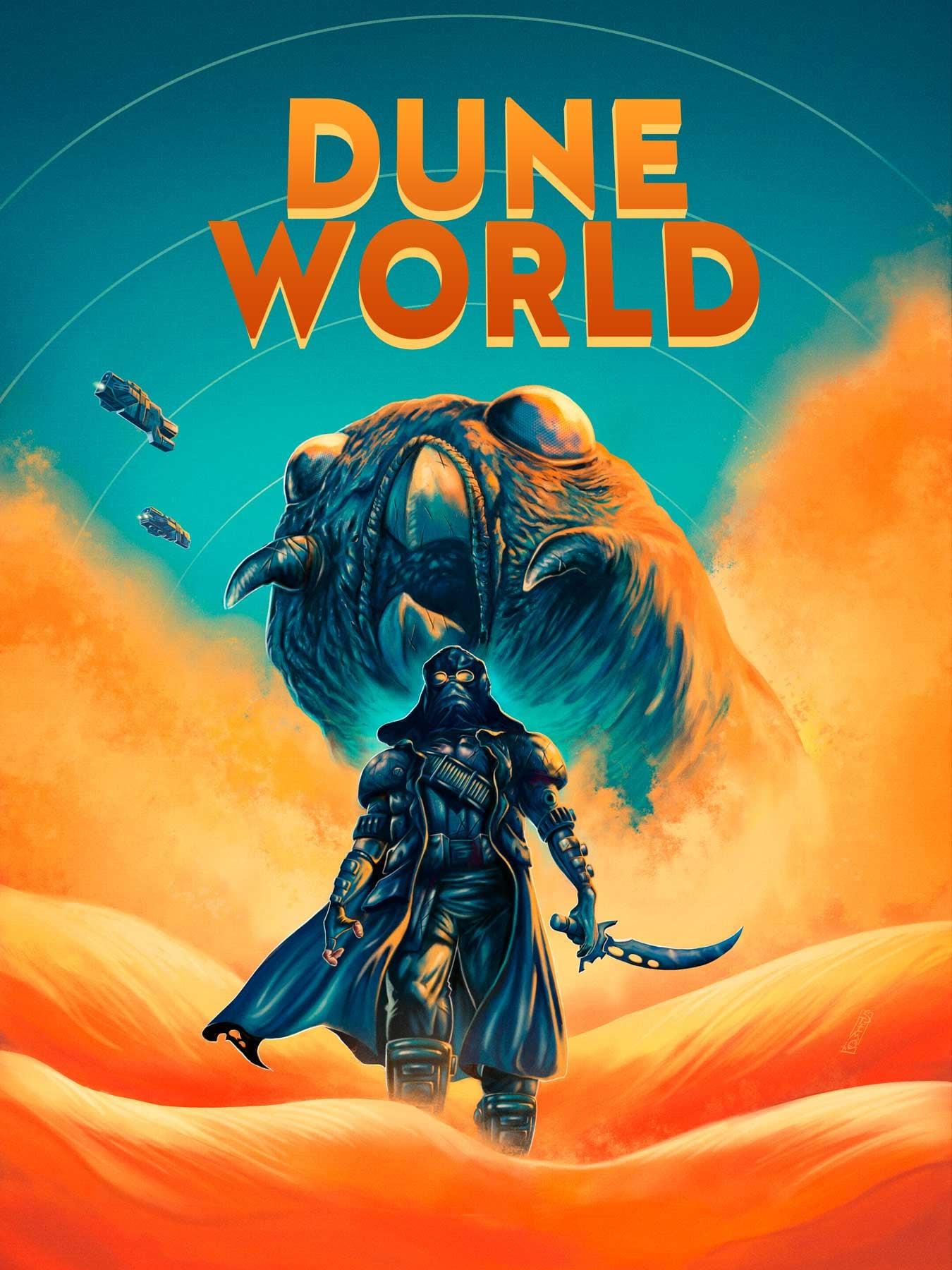 Dune World (2021) Telugu Dubbed (Voice Over) & English [Dual Audio] WebRip 720p [1XBET]