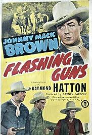 Flashing Guns Poster