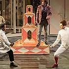 Tim McMullan, Daniel Rigby, Imogen Doel, and Tamara Lawrance in National Theatre Live: Twelfth Night (2017)