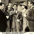 Lloyd Bridges, Joe E. Brown, Marguerite Chapman, Claire Dodd, Donald Douglas, and William Wright in The Daring Young Man (1942)