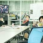 Masaharu Fukuyama, Fumi Nikaidô, and Yô Yoshida in Scoop! (2016)