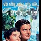 Louis Jourdan and Maggie McNamara in Three Coins in the Fountain (1954)