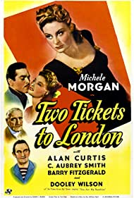 Michèle Morgan, Alan Curtis, Barry Fitzgerald, and C. Aubrey Smith in Two Tickets to London (1943)
