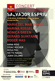 Concert del centenari Salvador Espriu Poster