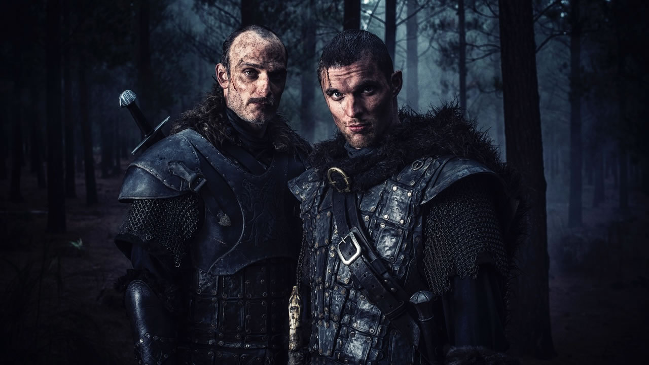 Anatole Taubman and Ed Skrein in Northmen - A Viking Saga (2014)