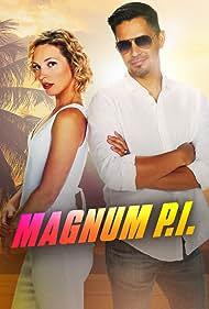 Jay Hernandez and Perdita Weeks in Magnum P.I. (2018)