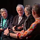 Joby Gee, Piers Haggard, Peter Medak, and Paul Iacovou at an event for The Ghost of Peter Sellers (2018)