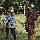 Emilia Jones and Sebastian Croft in Horrible Histories: The Movie - Rotten Romans (2019)