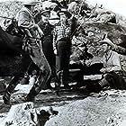 Lloyd Bridges, Lee J. Cobb, and Marie Windsor in The Tall Texan (1953)