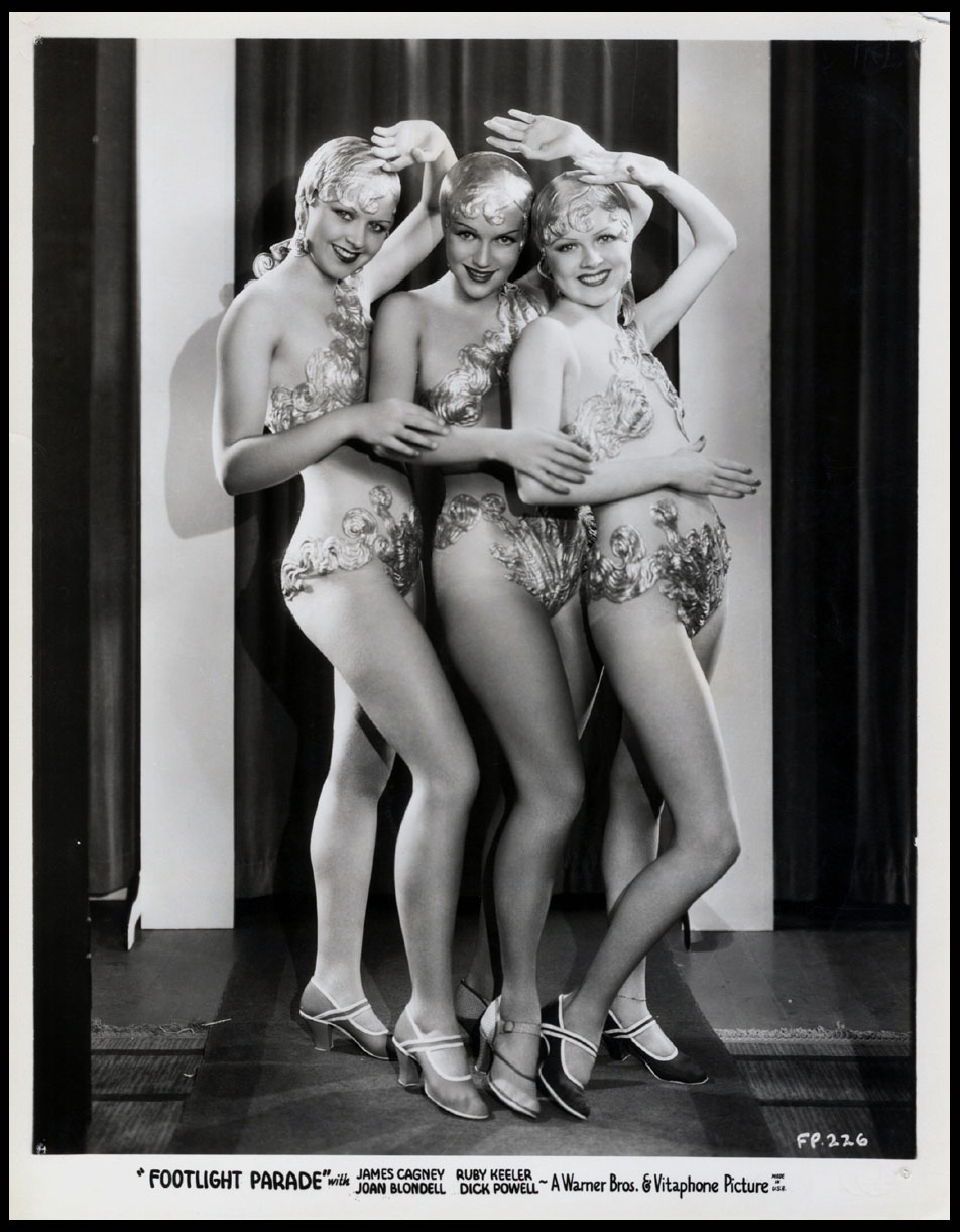 Bobbie La Salle, Adele Lacy, and Lois Lacy in Footlight Parade (1933)