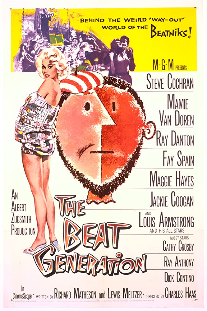 Mamie Van Doren in The Beat Generation (1959)