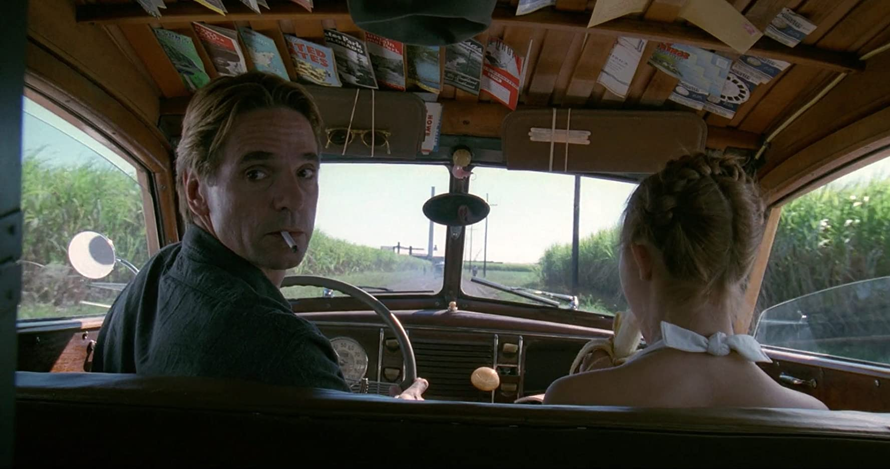 Jeremy Irons and Dominique Swain in Lolita (1997)