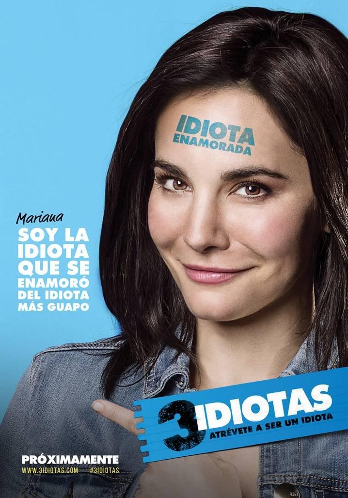 Martha Higareda in 3 idiotas (2017)