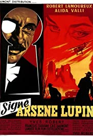 Signé: Arsène Lupin (1959) Poster - Movie Forum, Cast, Reviews