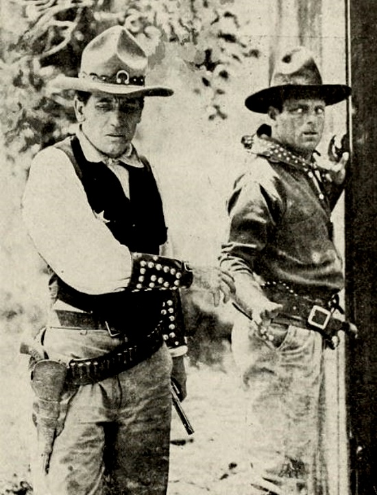 Gilbert M. 'Broncho Billy' Anderson and Arthur Mackley in Broncho Billy's Pal (1912)