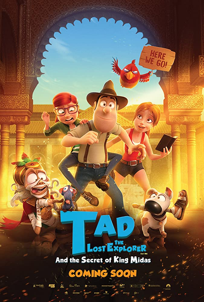 Tad The Lost Explorer And The Secret Of King Midas (Hindhi Dubbed) Movie Poster
