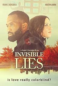 Frank E. Jackson Jr., Moses Massena, and Kristin Lauria in Invisible Lies (2021)