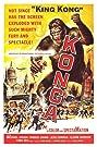 Konga (1961) Poster
