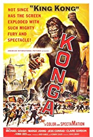 Konga(1961) Poster - Movie Forum, Cast, Reviews
