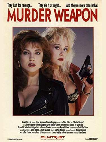 Linnea Quigley and Karen Russell in Murder Weapon (1989)