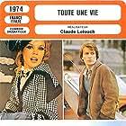 André Dussollier and Marthe Keller in Toute une vie (1974)