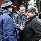 Jon Avnet directing Jason Issacs and legendary stunt man Buddy Joe Hooker on Pleading Guilty
