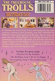 Treehouse Trolls Birthday Day Poster