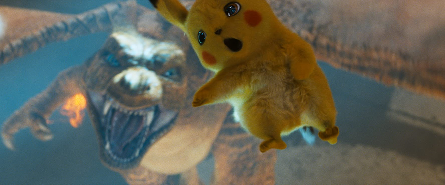 Ryan Reynolds in Pokémon Detective Pikachu (2019)