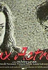 Deux actrices Poster