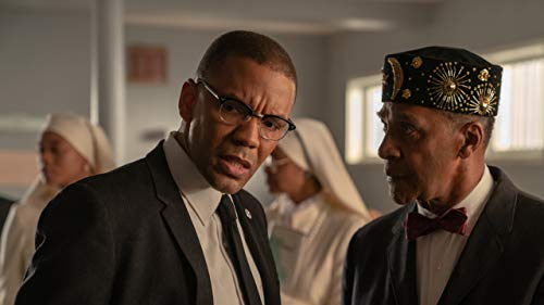 Clifton Davis and Nigel Thatch in Godfather of Harlem (2019)