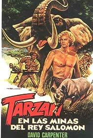 Paul Naschy and David Carpenter in Tarzán en las minas del rey Salomón (1973)