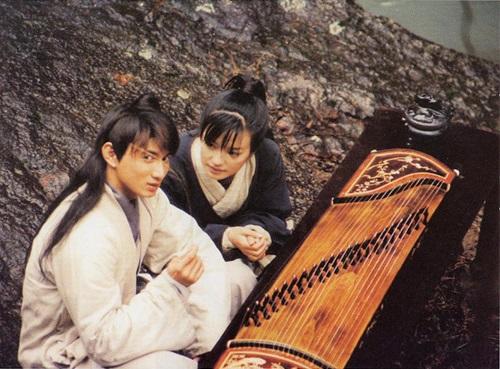 Nicky Wu and Wei Zhao in Xia nü chuang tian guan (2000)